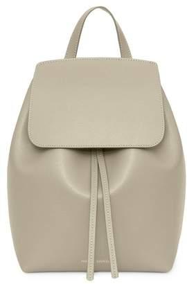 Mansur Gavriel Saffiano Mini Backpack - Elefante