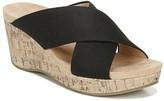 LifeStride Donna Women's Wedge Slide Sandals