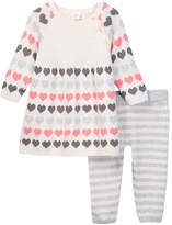 Nordstrom Intarsia Dress Set (Baby Girls)