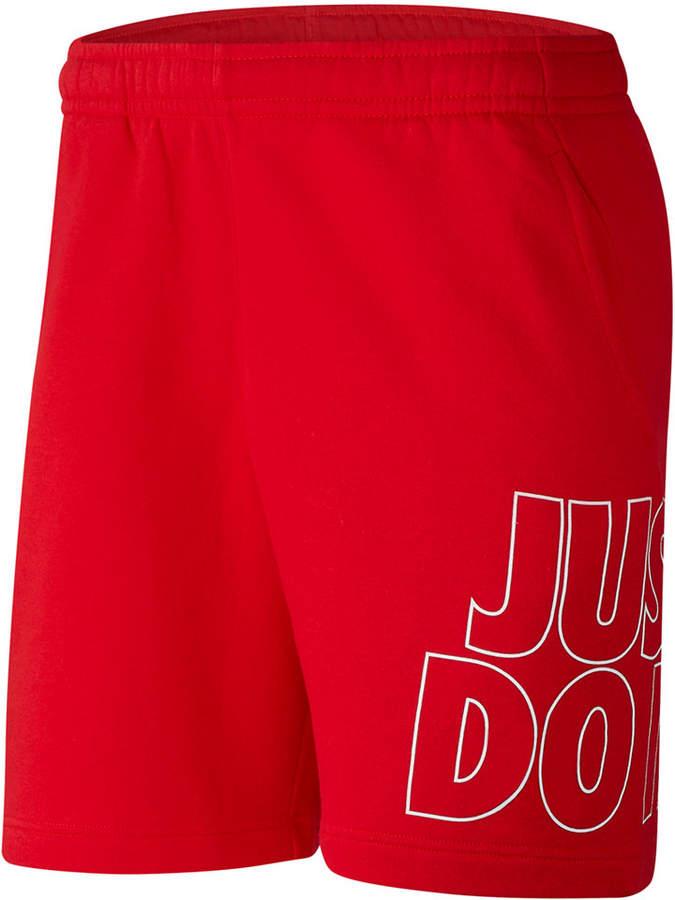 32c211c01c1 Men Sportswear Fleece Just Do It Shorts