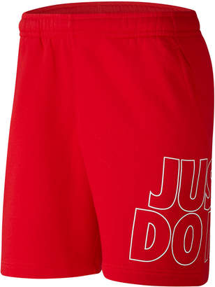 Nike Men Sportswear Fleece Just Do It Shorts