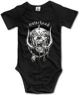 Wuliwuli The Most Famouse Rock Band Motorhead Baby Onesie Baby Bodysuit