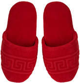 Versace Home - Men's Medusa Classic Jacquard Slippers - Red - Small