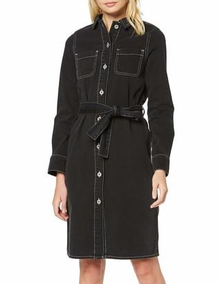 Find. Amazon Brand Women's Midi Denim Shirt Dress