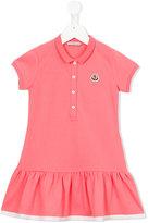Moncler polo dress - kids - Cotton/Spandex/Elastane - 2 yrs