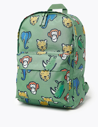 Marks and Spencer Kids' Animal Water Repellent School Backpack