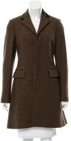 Ralph Lauren Black Label Wool Houndstooth Coat w/ Tags