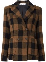 Barena 'Linda' checked jacket - women - Acetate/Viscose/Virgin Wool/Spandex/Elastane - 42