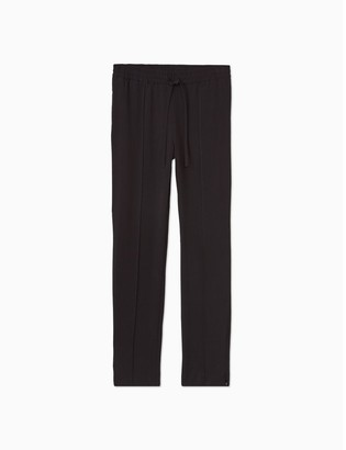 Calvin Klein Solid Seamed Stretch Joggers