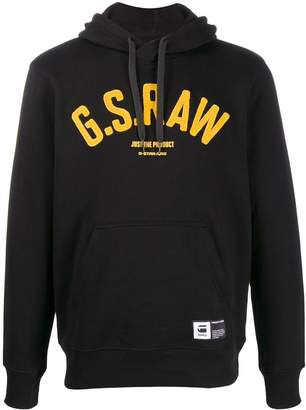G Star Research logo patch hoodie