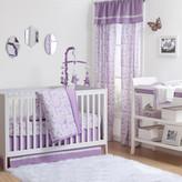 The Peanut Shell Rose 7 Piece Crib Bedding Set
