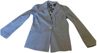 Brooks Brothers Blue Cotton Jacket for Women