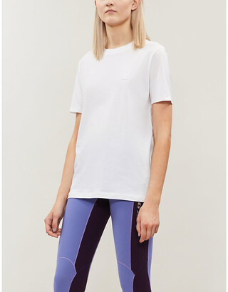 Acne Studios Ellison patch-embroidered cotton T-shirt