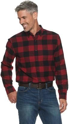 Croft & Barrow Men's Extra-Soft Slim-Fit Flannel Button-Down Shirt