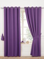 Plum Eyelet Curtains Shopstyle Uk