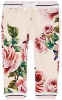 Dolce & Gabbana Rose Print Sweatpants