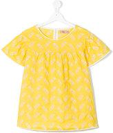 No21 Kids - flared T-shirt - kids - Cotton/Spandex/Elastane - 14 yrs