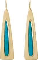 Irene Neuwirth Women's Elongated Drop Earrings
