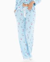 Soma Intimates Pajama Pants Skates Blue Crystal