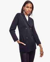 Ann Taylor Double Breasted Sweater Jacket
