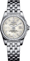 Breitling A7133053|A80|792A Galactic 36 Automatic stainless steel and diamond watch