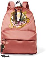 See by Chloe Appliquéd Cotton-sateen Backpack - Blush