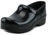 Dansko Narrow Pro Round Toe Leather Clogs.