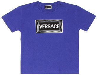 Versace Kids Cotton logo T-shirt