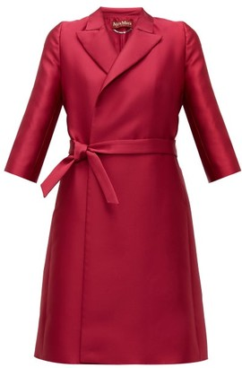 Max Mara Pompei Opera Coat - Womens - Pink
