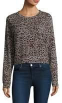 Stateside Leopard-Print Pullover
