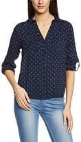 Tom Tailor Women's modern blouse tunic 20292240970 Asymmetric Long Sleeve Blouse