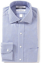 Daniel Cremieux Non-Iron Slim-Fit Spread-Collar Houndstooth Checked Dress Shirt