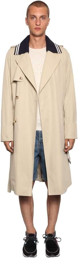 J.W.Anderson Lightweight Trench Coat W/ Rib Collar