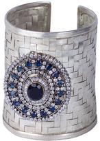 Le Beau Maroc Saphire Silver Cuff