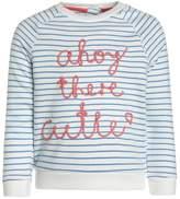 Mothercare STRIPE SLOGAN Sweatshirt white