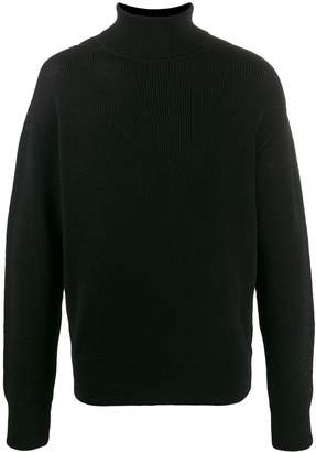 Our Legacy ribbed knit turtleneck sweater