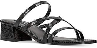 Nine West Remy Block-Heel Slide Sandals Women Shoes