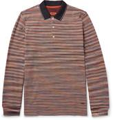 Missoni - Space-dyed Cotton-piqué Polo Shirt