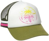 Roxy Juniors Dig This Stamp Trucker Hat