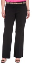 ELOQUII Plus Size Wide Leg Trouser