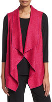 Caroline Rose Lana Fantasia Waterfall Vest, Plus Size