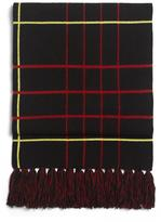 Rag & Bone Mallori Scarf – Black/ Red
