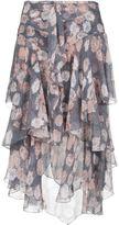 Jason Wu floral tiered midi skirt