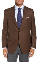 Peter Millar Men's Classic Fit Windowpane Wool Sport Coat