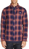 Scotch & Soda Quilted Plaid Shirt Jacket