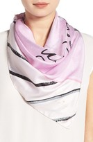 Kate Spade Women's Letter From Pairs Square Silk Scarf