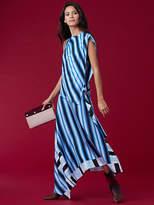 Diane von Furstenberg Draped Two Tier Dress