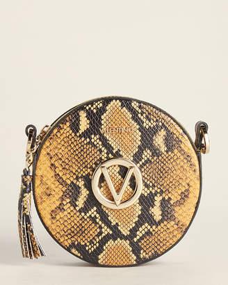 Mario Valentino Valentino By Ochre Yuki Python-Embossed Leather Crossbody