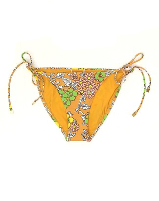Tory Burch Floral Printed String Bikini Bottoms