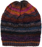Missoni striped knitted beanie - women - Polyester/Wool - One Size